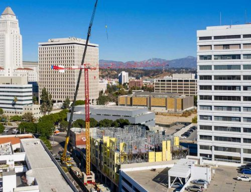 Construction Ramps Up for Little Tokyo Condo Development