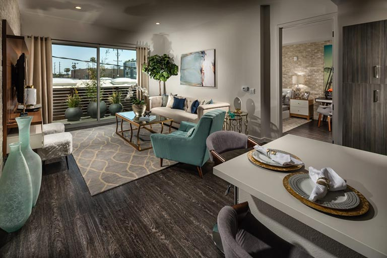 X67 Lofts offers luxury Marina del Rey condos with large living spaces, premium features, and upscale amenities.
